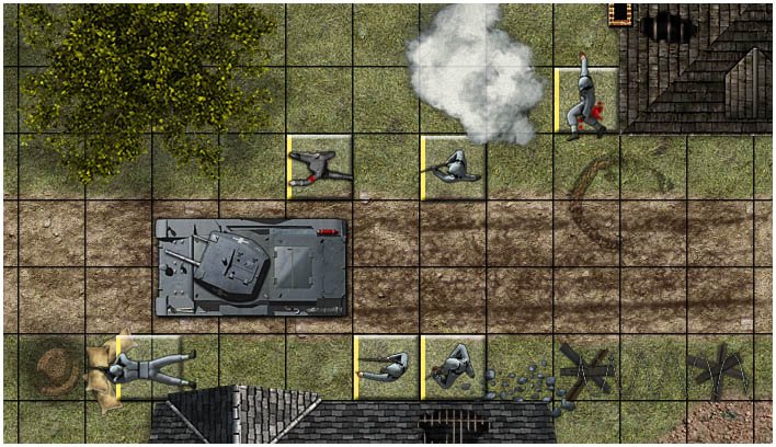 Virtual tokens for playing WW2 games - Steve Jackson Games